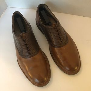 Ralph Lauren polo saddle shoes